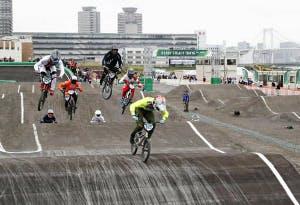 BMX五輪テスト