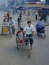 タイ・ビルマ国境地帯の風景