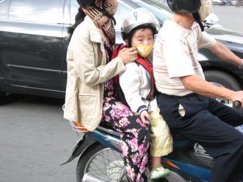 子供にマスクは少ない気がする