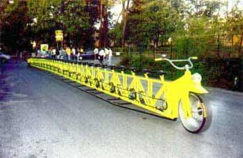 自転車リムジン
