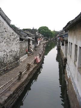 暮らしの中に運河が