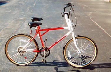 横並び型タンデム自転車