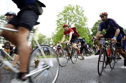 自転車乗りのお祭り