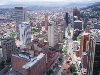 Bogota, Photo by Luis Andres Alvarez,licensed under the Creative Commons Attribution ShareAlike 3.0 Unported.