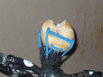Handlebar Food Holder