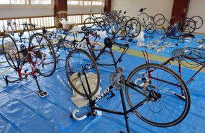 押収の自転車