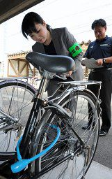 自転車鍵掛け率