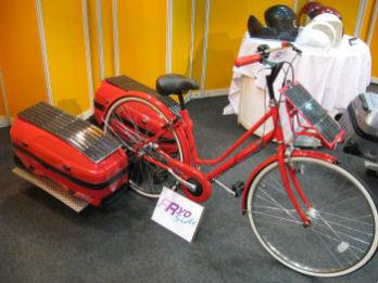 太陽電池自転車