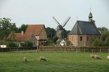 Bokrijk,Photo by Bokrijkbart,under the GNU Free License.