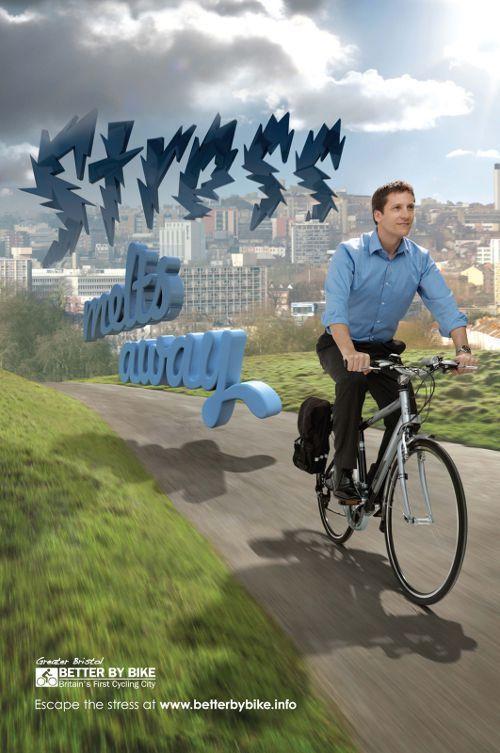 Better By Bike: Stress, adsoftheworld.com