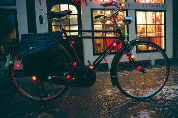自転車イルミネーション
