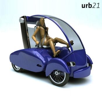 Human Energy Moving Urban Vehicle (urb 21)