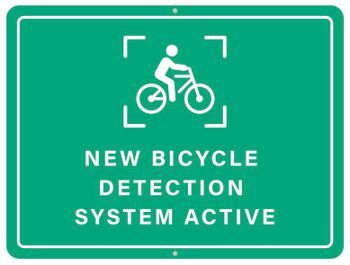The thermal bike-distinguishing video detection system