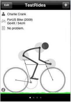 TestRides - Virtual Bike Fitting Room