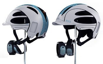 Helmet with Wristband Indicators