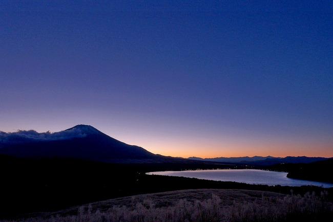 晩秋の富士山-013