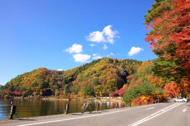紅葉&富士山-008