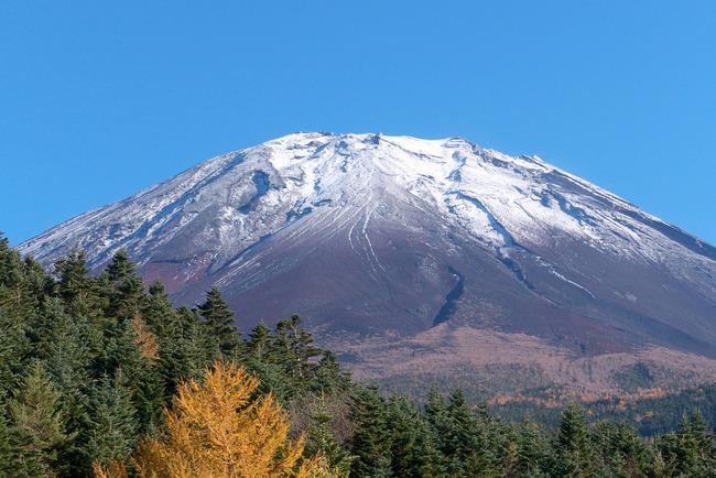 晩秋の富士山-010