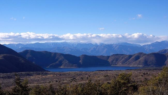 冬の富岳-004