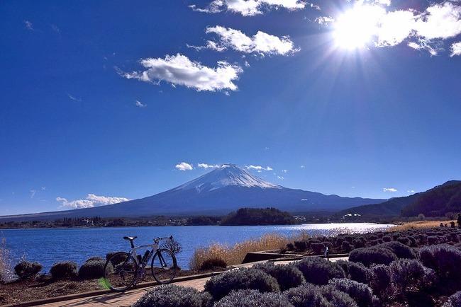 冬の富岳-003