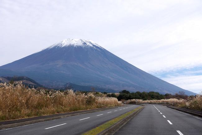小春日和の富士山-005