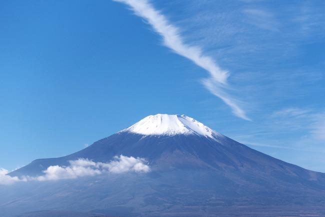 小春日和の富士山