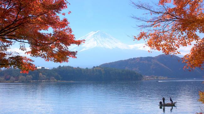 紅葉&富士山-009