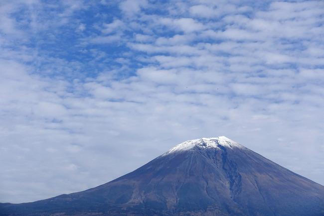 小春日和の富士山-006