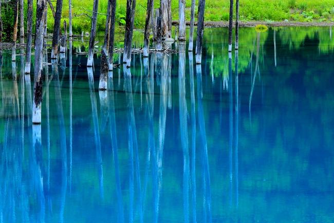 青い池-023