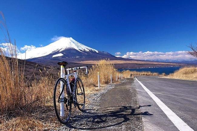 冬の富岳-001