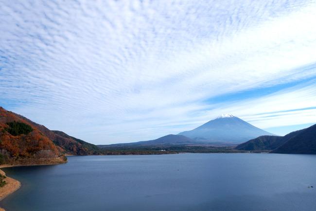 小春日和の富士山-003