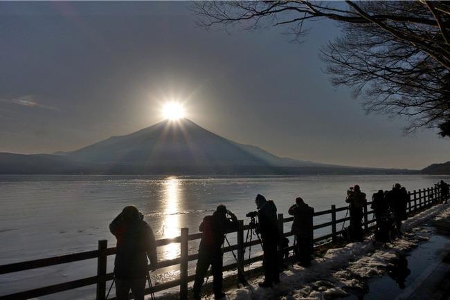 山中湖冬景色-011