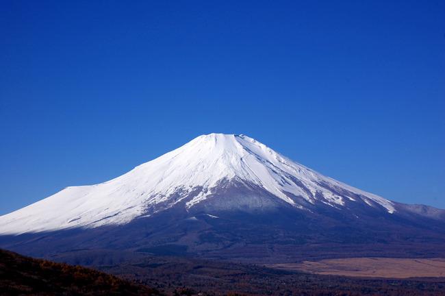 紅葉&富士山-001