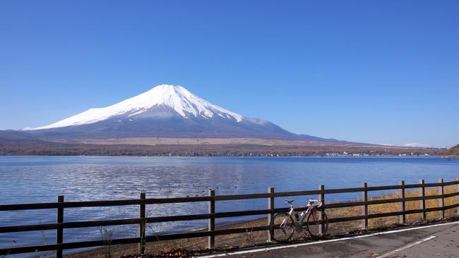 紅葉&富士山-002