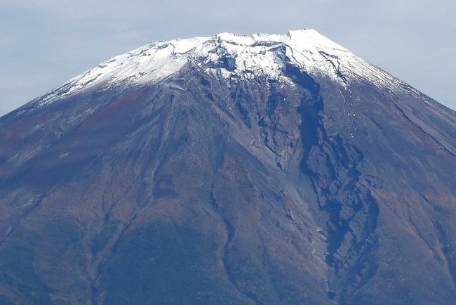 小春日和の富士山-007
