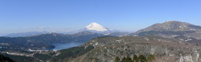 大観山からのパノラマ