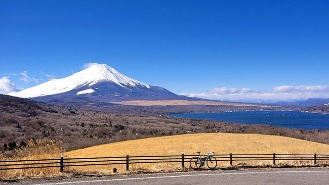 冬の富岳-002