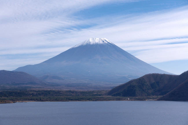小春日和の富士山-004