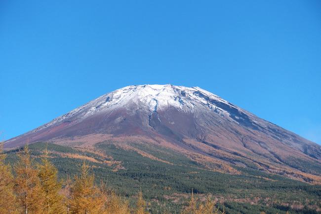 晩秋の富士山-012