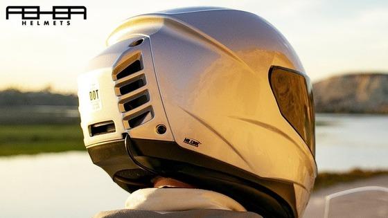 世界初!エアコン付きバイク用ヘルメット