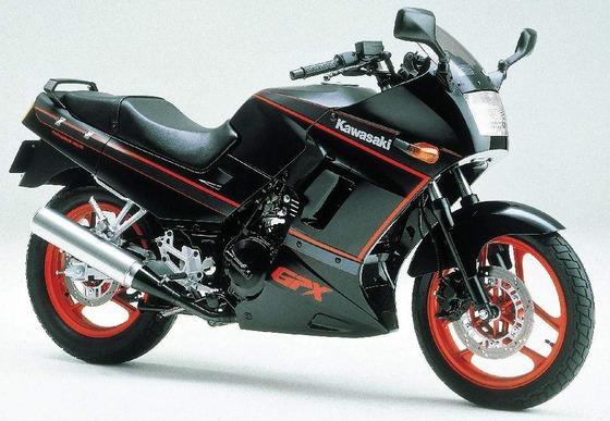 Kawasaki GPX250R 87  1