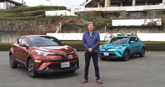 「プリウスSUV」トヨタ新型C-HRを国沢光宏さんが大絶賛