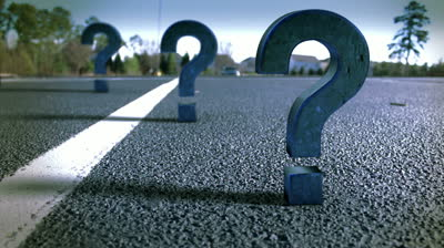stock-footage-question-marks-in-the-road