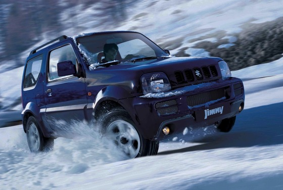 Suzuki-Jimny-snow