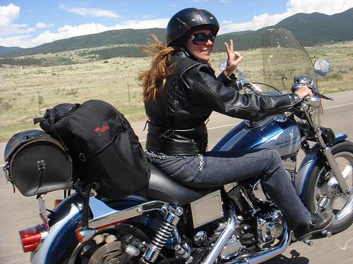 womanmotorcyclerider