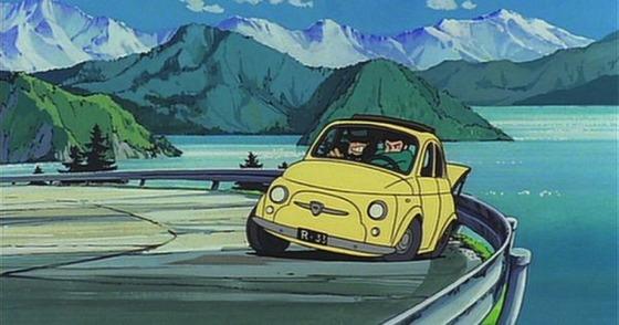 ルパン三世の愛車といえばフィアットだよな?