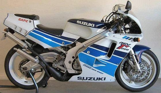 Suzuki RGV250 91  3