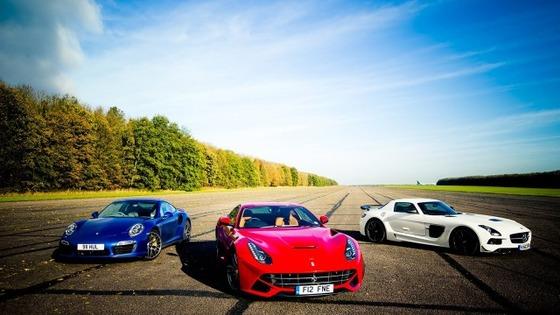フェラーリとポルシェとベンツ。どれが一番好き?