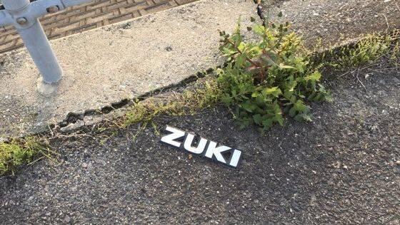 【朗報】あの「ZUKI」だけになってたスズキエンブレムさん、「SU」と再会するwwwwww