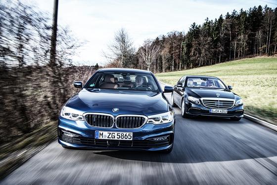 2017-BMW-530d-xDrive-vs-2017-Mercedes-Benz-E350d-04